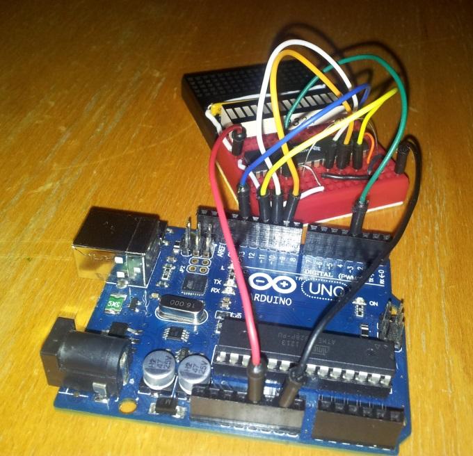 Arduino + TLC5940