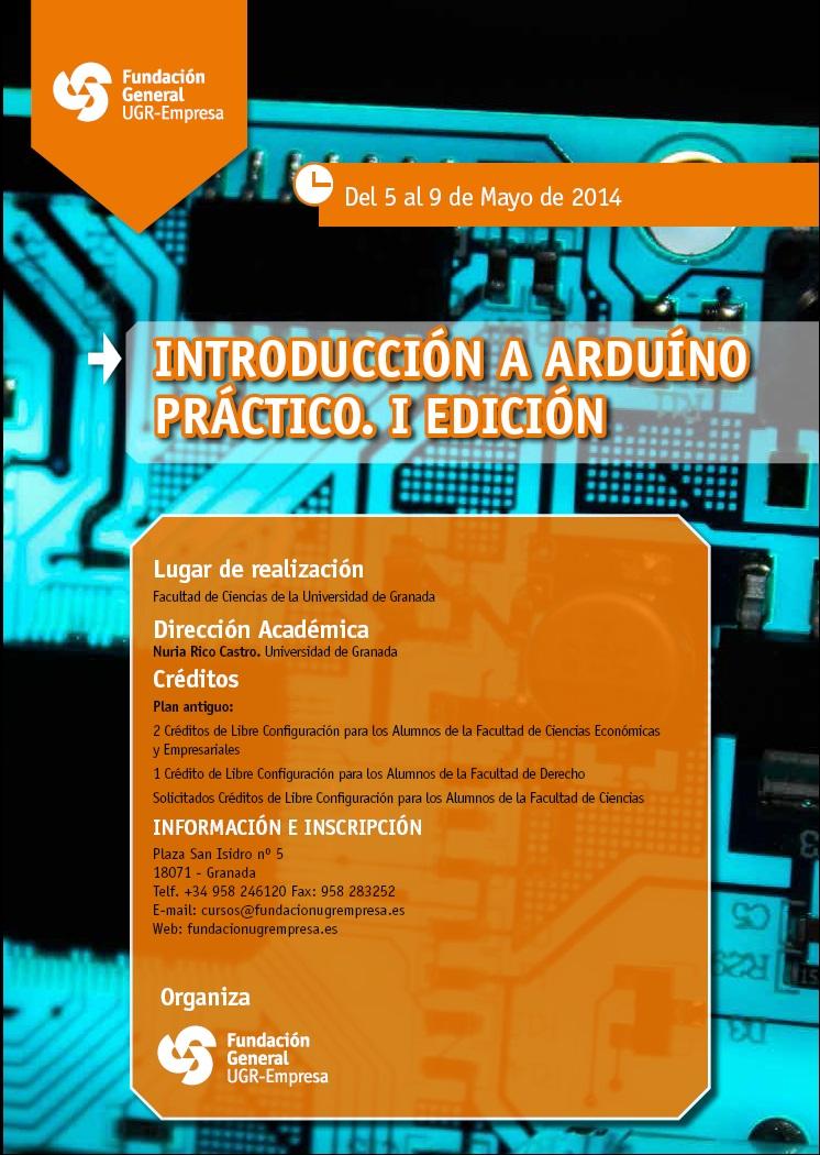 Curso presencial de Arduino Práctico en Granada