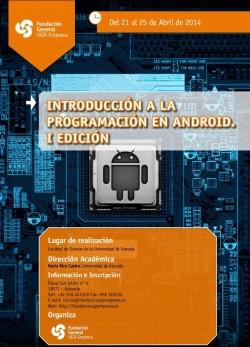 Curso presencial de Introducción a la programación en Android en Granada